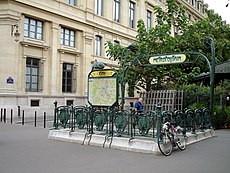 Metro - Paris - Ligne 4 - station Cite.jpg