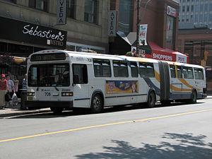English: Halifax Metro Transit bus number 708,...