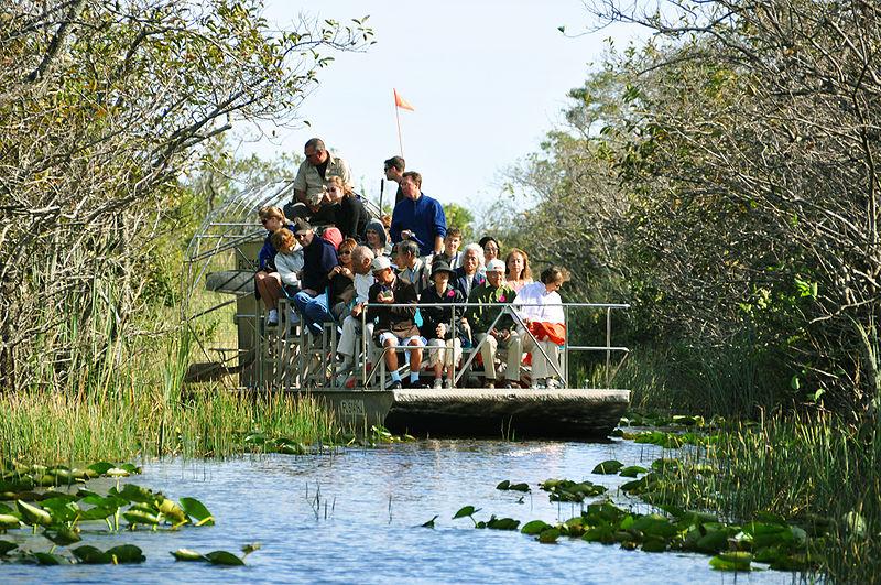 Tour Aeroglisseur Floride