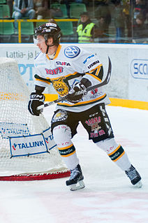 Michael Keränen Swedish ice hockey player