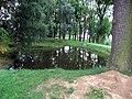 Michalovice, rybník v centru.jpg