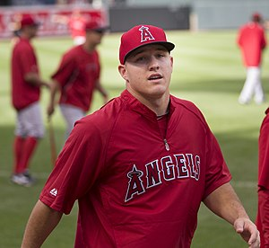 2013 Los Angeles Angels season - Mike Trout in 2013.