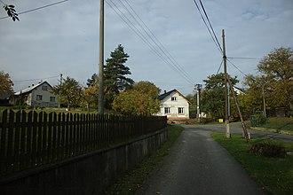 Mikolajice - Image: Mikolajice, domy