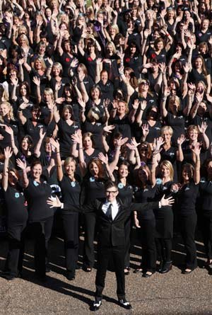 Military Wives - Image: Military Wives Choir Foundation Launch with Gareth Malone, September 2012