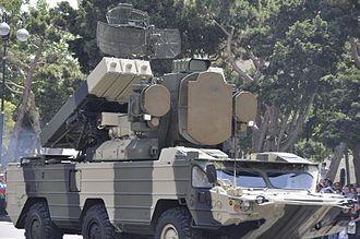 9K33 Osa - 9A33BM transporter erector launcher and radar (TELAR)