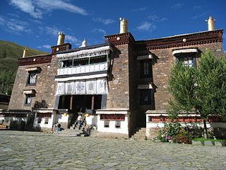 Mindrolling Monastery Buddhist monastery in Zhanang County, Tibetan Autonomous Region, China