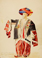 Costume of Beder Khan Bey