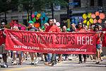 Minnesota AIDS Project - HIV Stigma Stops Here - Twin Cities Pride Parade (9180874836).jpg