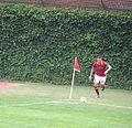 Miralem Pjanić corner kick Wrigley Field.jpg