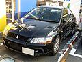 Mitsubishi LANCER EVOLUTION VII (GH-CT9A) front.JPG