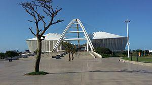 Durban - Moses Mabhida stadium in Durban