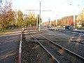 Modřanská, odbočení tramvajové trati (01).jpg