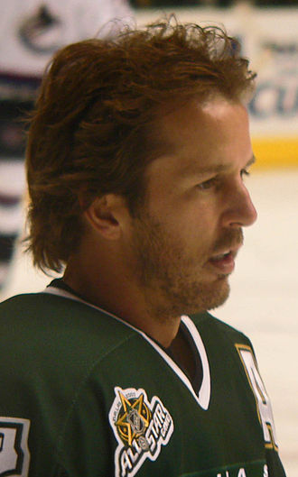 Mike Modano - Modano at the 2007 NHL All-Star Game