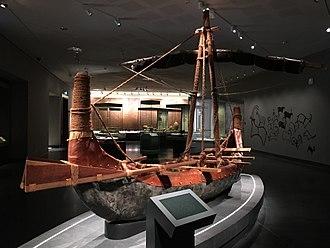Magan (civilization) - Model of a Magan boat