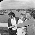 Modesty Blaise film van Amerikaan Joseph Losey. Filmopnamen te Amsterdam. Moni, Bestanddeelnr 917-9561.jpg