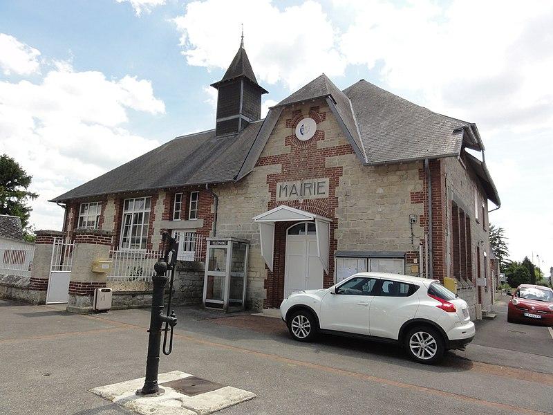 Monampteuil (Aisne) mairie