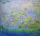 Monet - Nymphéas (Waterlilies), c.1914-17.jpg