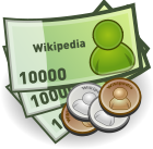 Money Coin Icon.svg