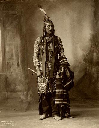 American Indians of Iowa - Moni Chaki, Ponca, 1898