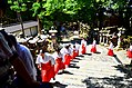 Monks in Kasuga-taisha shrine in Nara 03.jpg