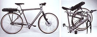 Montague Bikes - Montague Electric Bi-Frame from the early 1990s.
