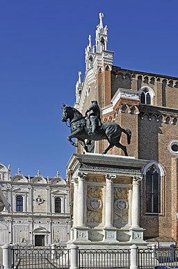 Monument Bartolomeo Colleoni by Andrea Verrocchio Venice