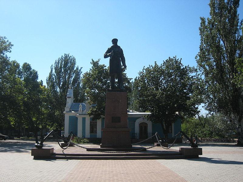 Monumento a Makarov (Nicolaiev, Ucrania)