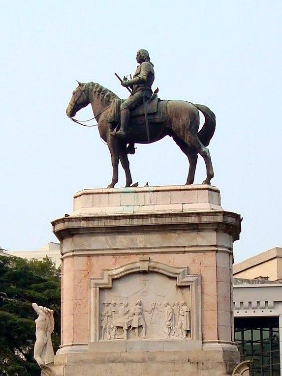 Monumento a Zabala detalle