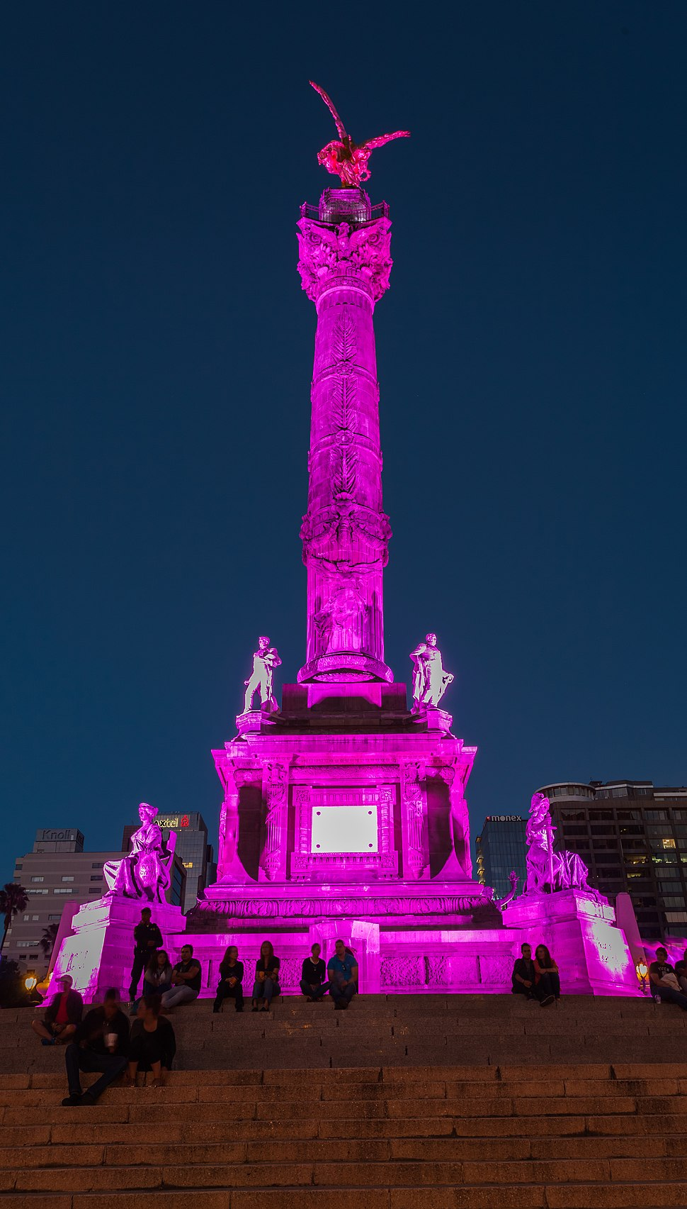 Monumento a la Independencia, México D.F., México, 2014-10-13, DD 24