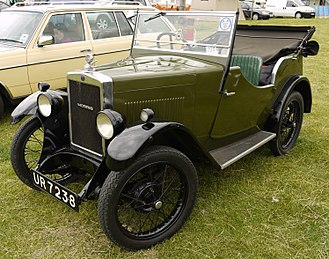 Morris Minor (1928) - tourer registered July 1930