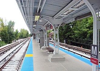 Morse station - Image: Morse station 2012