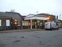 Mortlake station southern entrance.JPG