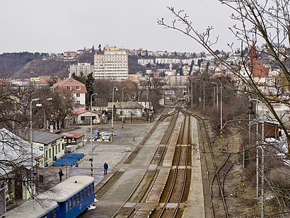 How to get to Nádraží Braník with public transit - About the place