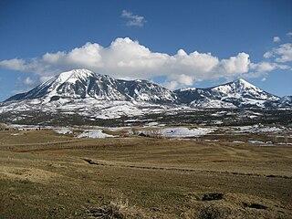 Mount Lamborn mountain in United States of America