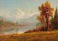 Mount Baker, Washington 1891 by Albert Bierstadt.jpg