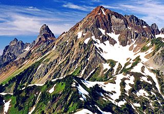 Mount Larrabee mountain in the United States of America