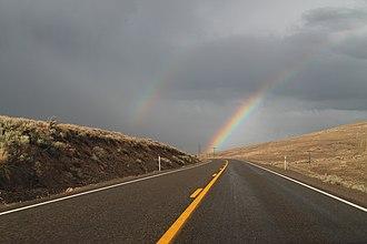 Nevada State Route 225 - SR 225 northbound near Adobe Summit