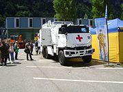 Mowag Ambulance Front