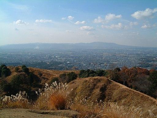 Mt. wakakusa overlooking Nara