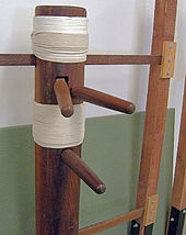 Mu ren zhuang (Chinese martial arts training dummy).jpg