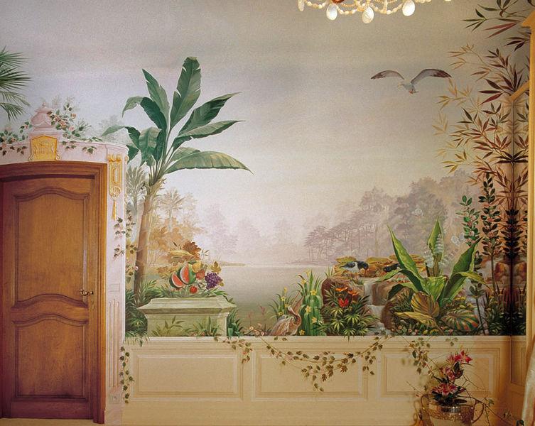 file mural dining room jpg wikimedia commons