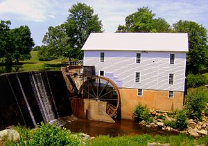 Murray's Mill Historic District - Murray's Mill, July 2010