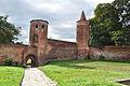 Mury obronne z wieżami Menniczą i Prochową w Goleniowie.jpg