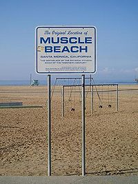 Muscle Beach Sign Jpg