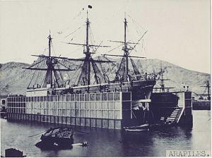Spanish ironclad Arapiles - Image: Museo Arqueológico Nacional 1871 58 FF00001 Fragata Arapiles
