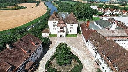 Fürstenberg Castle Building Complex   The Central Building Housing The  Porcelain Museum