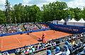 Nürnberger Versicherungscup 2014 - Centercourt des 1.FCN Tennis am Valznerweiher von Nord-Westen 02.JPG