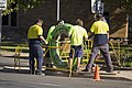 NBN Co fibre optic cable being laid in Tarcutta St in Wagga (7).jpg