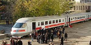 Georgian Railways - One of the present day Georgian Railway passenger trains
