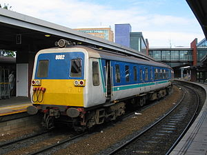 NIR Class 80 - 8082 at Belfast Central (2004)